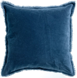 Cushion - Velvet Fringed Cushion Touareg