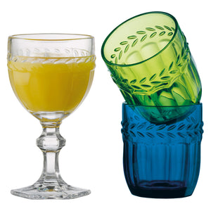 Glass - Camargue Goblet Green
