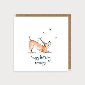 Card - Happy Birthday Sausage