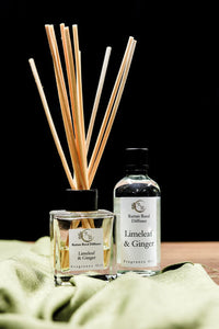 Reed Diffuser Refill 100ml - Limeleaf & Ginger