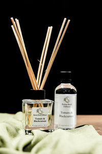 Reed Diffuser 100ml - Tomato & Blackcurrant