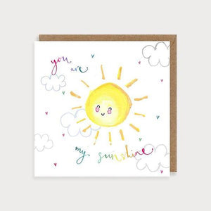 Card - You Are My Sunshine