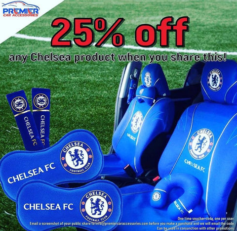 Chelsea car product voucher code