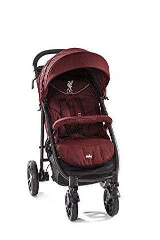 Joie Litetrax 4 LFC Pushchair/Stroller, Red Liverbird
