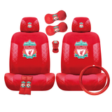 Liverpool FC car accessory set