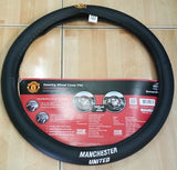 Manchester United shop steering wheel
