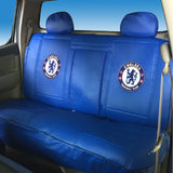 Chelsea FC car back seat