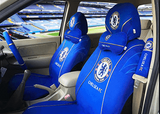 Chelsea FC auto seat covers