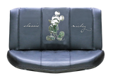 Stunning Mickey Mouse leather rear seat cover