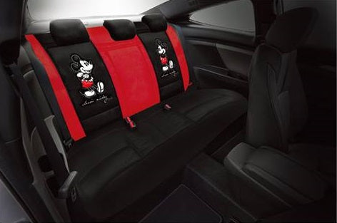 Disney Mickey Mouse rear car seat