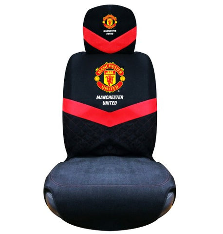Manchester United car seat cover black