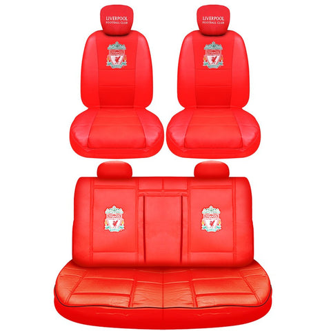 Liverpool FC car seat covers (luxury edition)