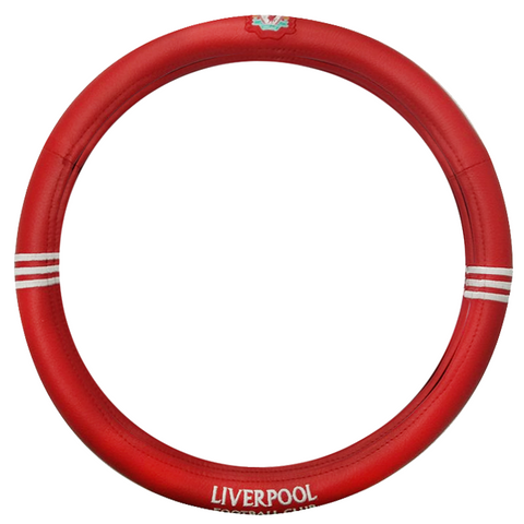 Liverpool Football Club leather steering wheel