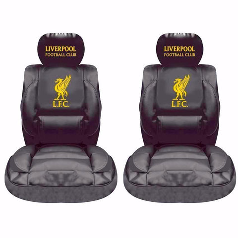 Liverpool Premium LE Covers (black) with Steering Wheel Cover