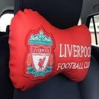 Liverpool FC shop cushion
