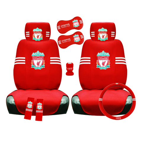 Full Liverpool FC car accessory set