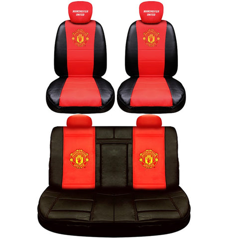 Manchester United luxury car seat covers