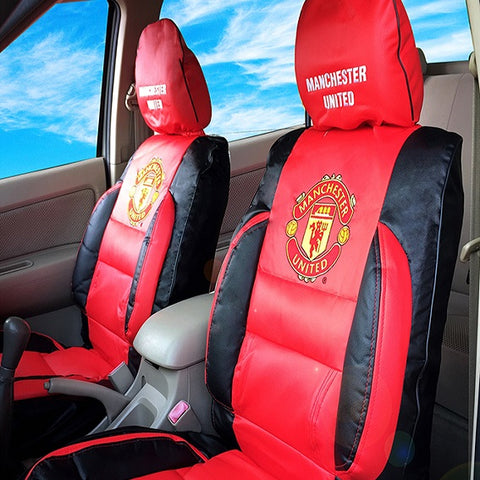 Manchester United car seat covers leather