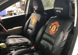 Manchester United leather seat covers