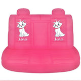 Marie Duchess cats car seat cover Disney rear