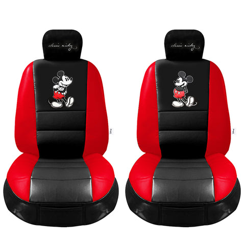 Disney Mickey Mouse leather car seat