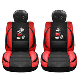 Dsiney Mickey Mouse auto seat covers leather