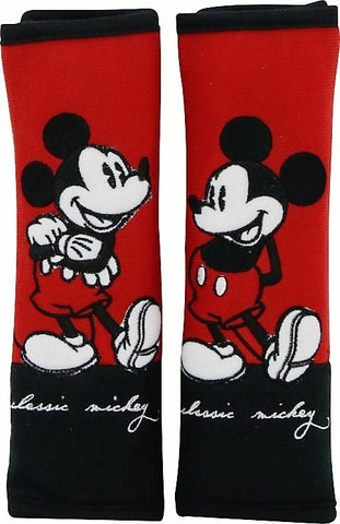 mickey mouse seat belt pads