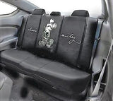 Black Disney Mickey rear seat cover leather