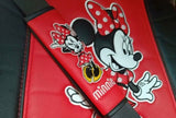 Disney Minnie Mouse pvc seat belt pads