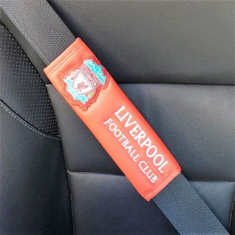 Liverpool fC shop car interior