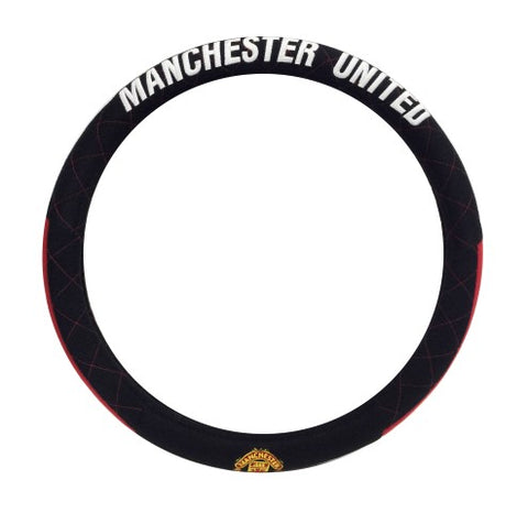 Manchester United steering wheel black