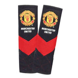 Manchester United seat belt covers (black)
