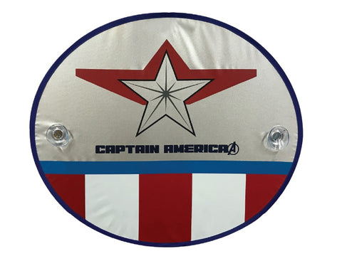 Captain America LE Car Side Window Shades (Pair)