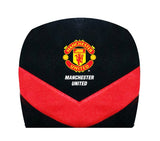 Manchester United car seat headrest cover black