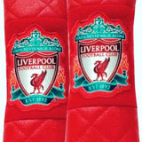 Liverpool Royal Reds Seat Belt Pads (x 2). On sale.