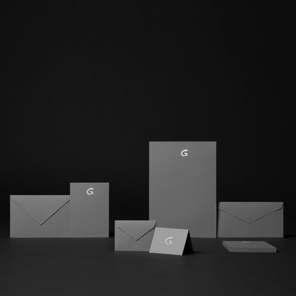 Stationery Suite in Grey