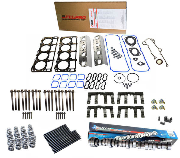 Performance MDS Delete Kit w/ Your Choice of Texas Speed Camshaft for 2009+ Dodge Chrysler Jeep 5.7L Hemi