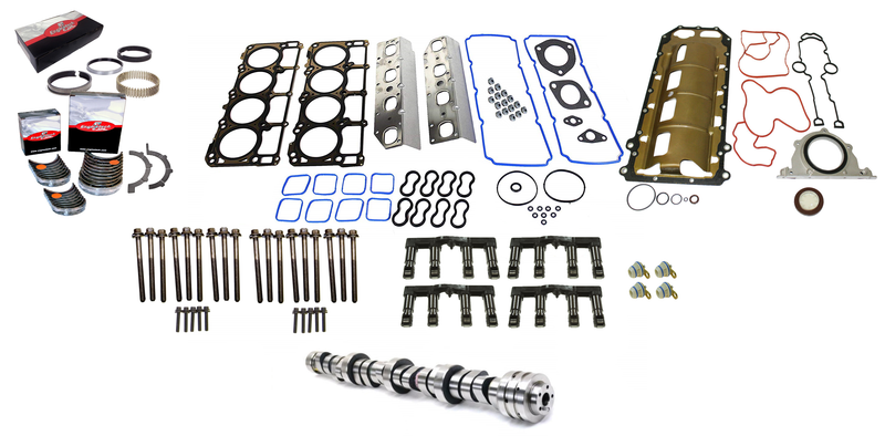 Complete MDS Delete Overhaul Kit for 2009 - 2015 Dodge Ram Durango 5.7L Hemi Truck Engines