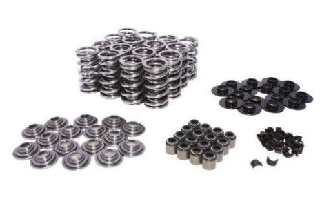 COMP CAMS 26925TS-KIT DUAL VALVE SPRING KIT GM LS STEEL RETAINERS