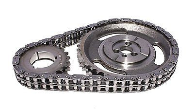 COMP Cams 3136 Double Roller Timing Chain Set for 1987-1992 Chevrolet Small Block 305 350 Engines with Factory Roller Camshafts