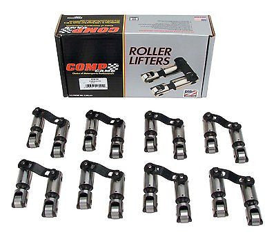 COMP Cams 819-16 Endure-X Mechanical Roller Lifters Set for 1965-1996 Chevrolet Big Block 396 - 454 Engines
