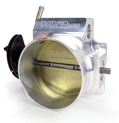 FAST 54102 LSXR LS 102MM BIG MOUTH THROTTLE BODY w/o TPS IAC