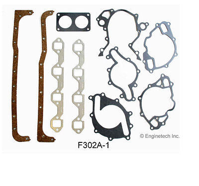 Enginetech RCF302MP Engine Rebuild Kit for 1991-1985 Ford 302 5.0L H.O. Car