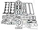 Enginetech RMC350B Engine Re-Main Re-Ring Overhaul Kit for 1986-1995 GM SBC Chevrolet 350 5.7L