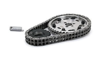 COMP Cams 8100 Adjustable Billet Timing Chain Set for Chevrolet Small Block 283 327 350 400 Engines with Flat Tappet Camshafts