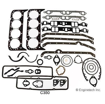 CHEVROLET CHEVY SBC 350 5.7L 1969-1985 ENGINE REMAIN RERING KIT 2 PIECE SEAL