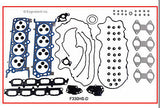 Enginetech RCF330GP Engine Rebuild Kit for 2004-2006 Ford 330 5.4L SOHC 24 Valve Truck