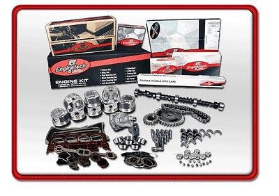 ENGINETECH HPK350 CHEVY SBC 350 EARLY PERFORMANCE MASTER OVERHAUL KIT