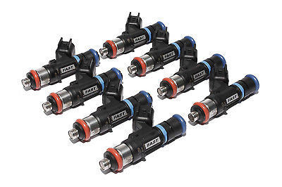 FAST 30462-8 46 LB/HR HIGH IMPEDENCE PRECISION FLOW FUEL INJECTORS LS2 6.0L