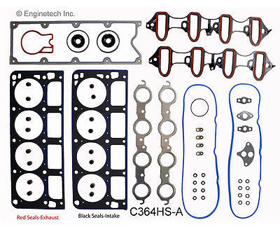 Enginetech MKC364P Master Engine Rebuild Kit for 1999-2000 Chevrolet GMC Truck 364 6.0L V8 LQ4 Vortec